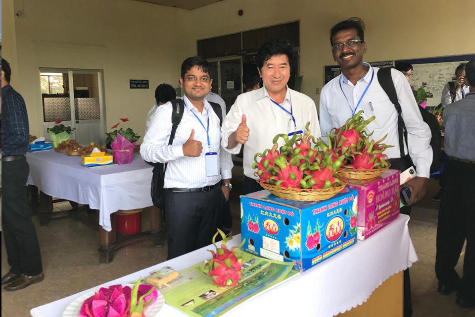 Great news from Deccan exotics dragon fruit farm