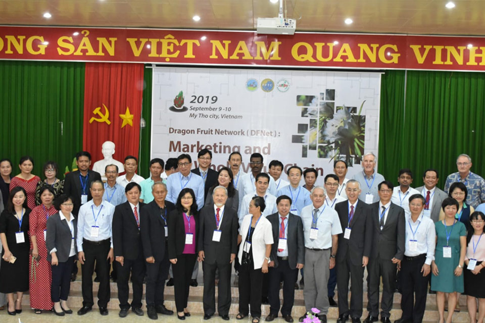 World dragonfruit network council meeting September 9,10-2019 , Vietnam.