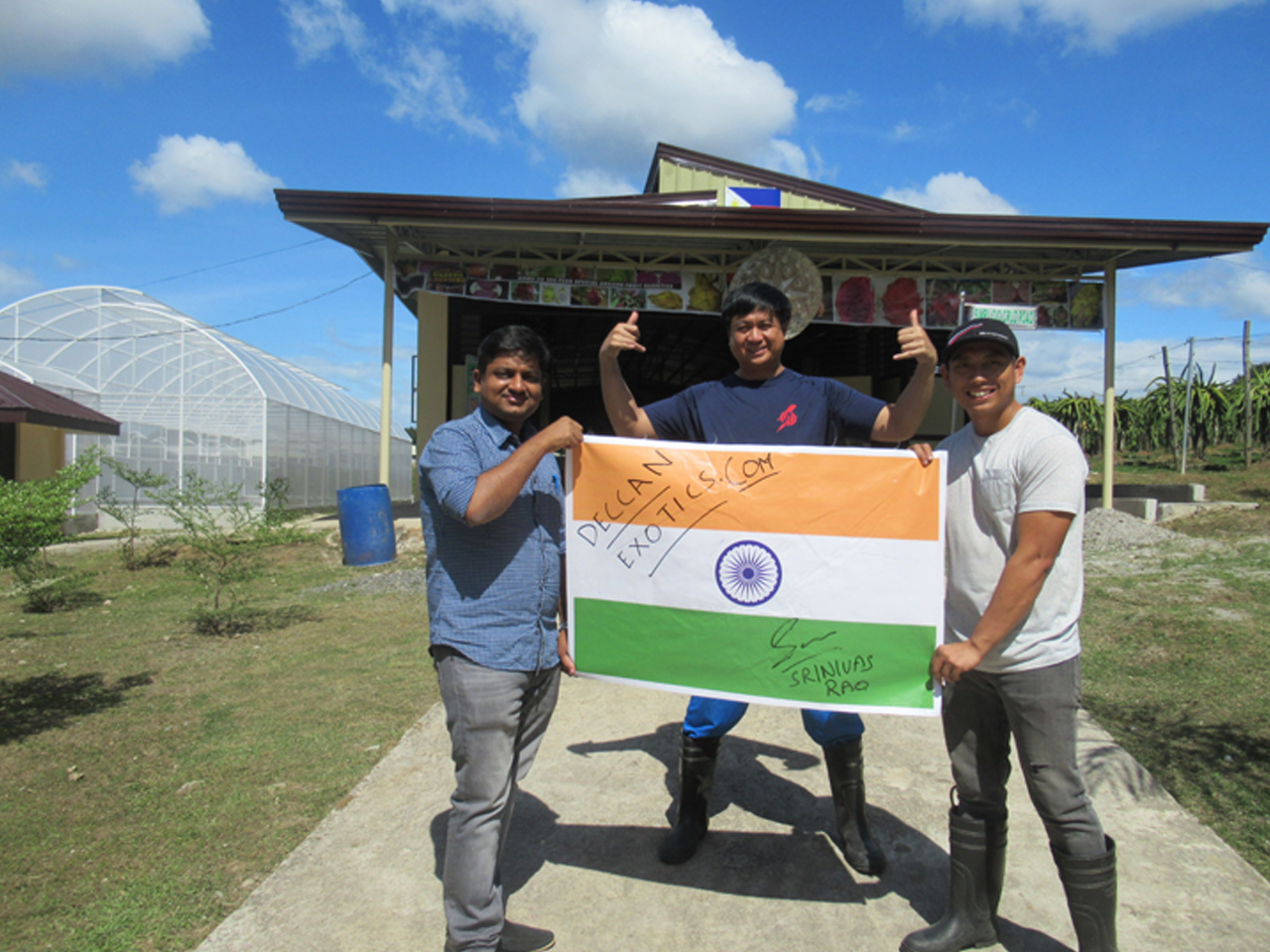 Collaboration with Tlm Farms Philippines
