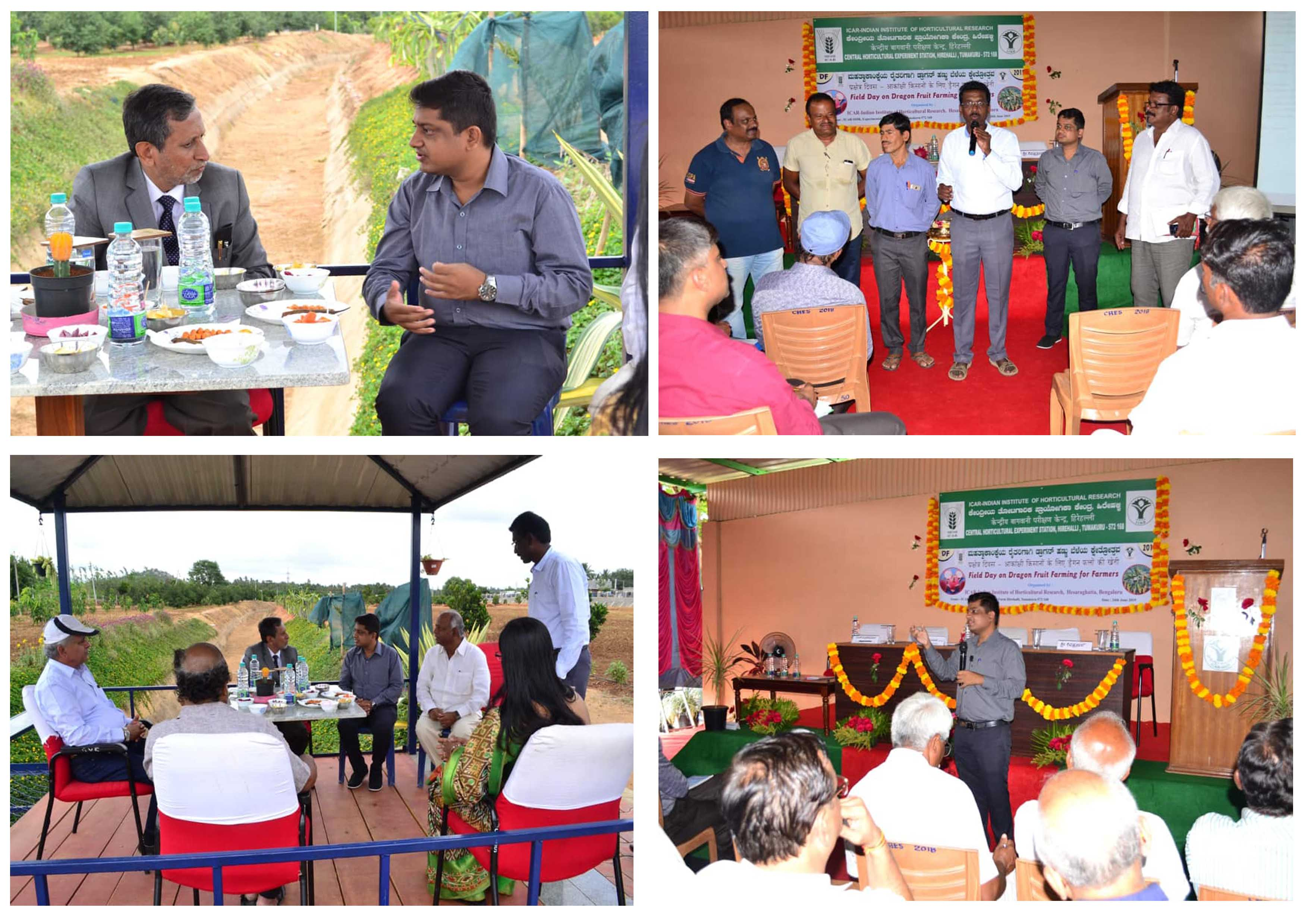 Visit to ICAR-IIHR ( national horticulture Research institution) as a guest speaker